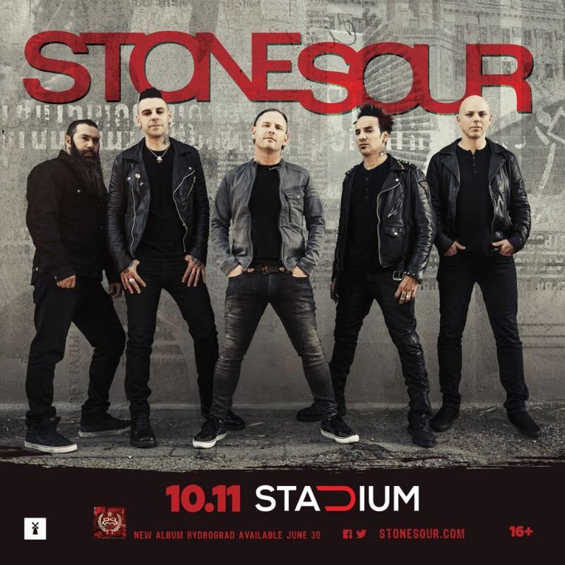 Концерт Stone Sour в Москве